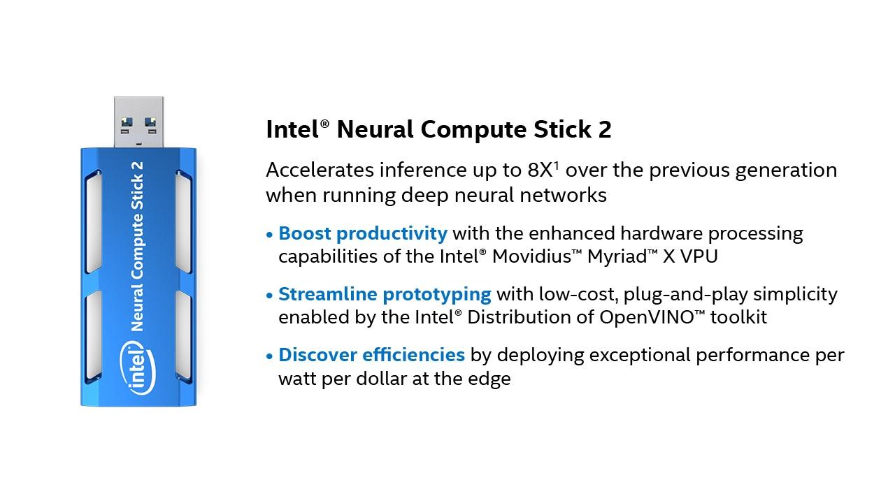 Neural Compute Stick 2 info