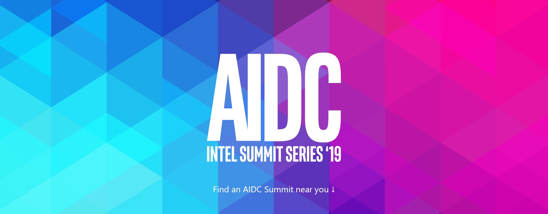 AIDC Intel Summit Series '19