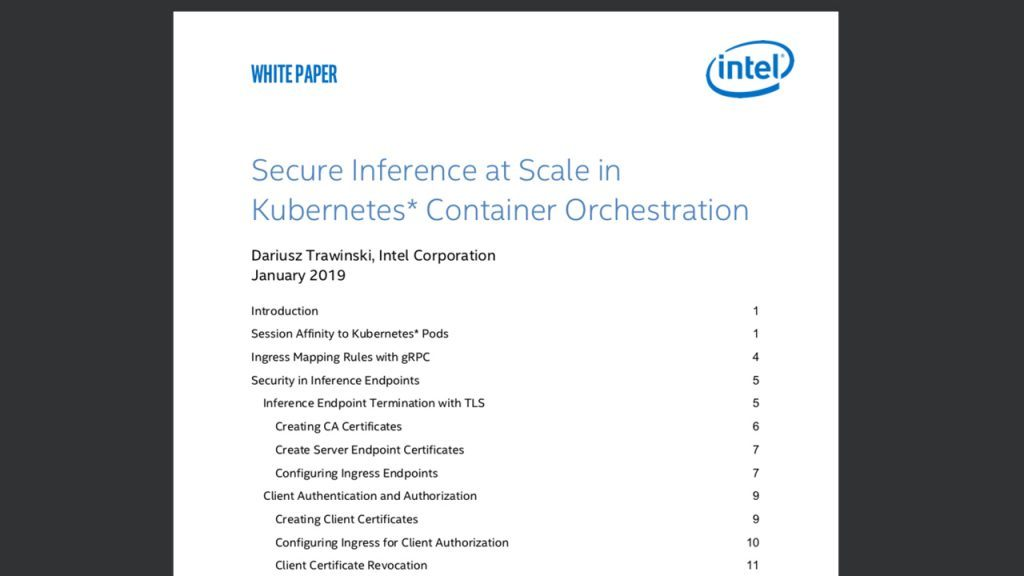 Inference Scaling in Kubernetes
