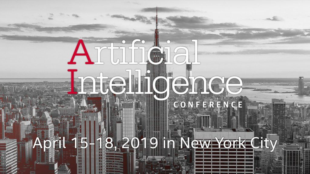 Put AI to Work from April 15-18, 2019 in New York City