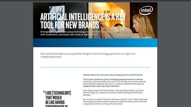 Artificial Intelligence is a Key Tool for New Brands