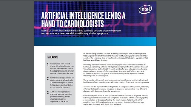 Artificial Intelligence Lends a Hand to Cardiologists