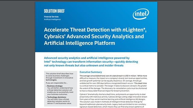 Accelerate Threat Detection
