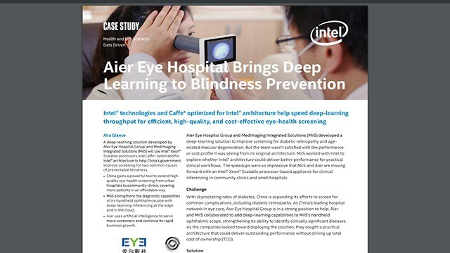 Aier Eye Hospital Brings Deep Learning to Blindness Prevention