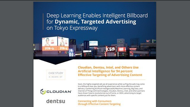 Deep Learning Enables Intelligent Billboard for Dynamic, Targeted Advertising on Tokyo Expressway