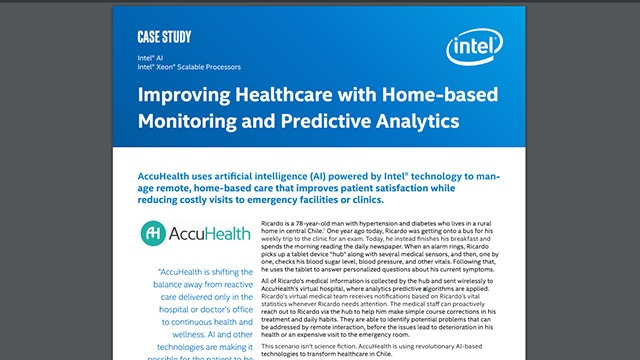 Improving Healthcare with Predictive Analytics