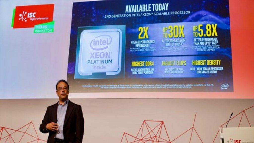 Intel's Data-Centric Portfolio Accelerates Convergence of High-Performance Computing and AI Workloads