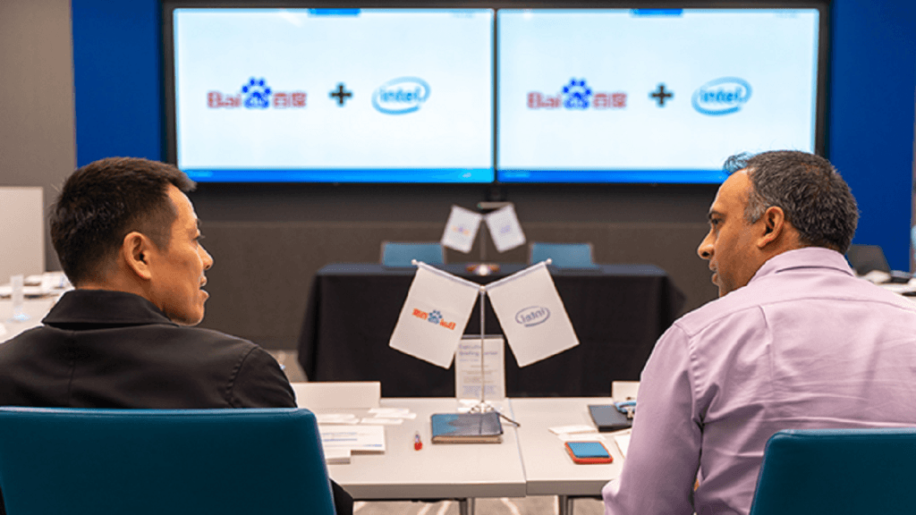 Intel and Baidu Continue Collaboration across AI, AD and 5G