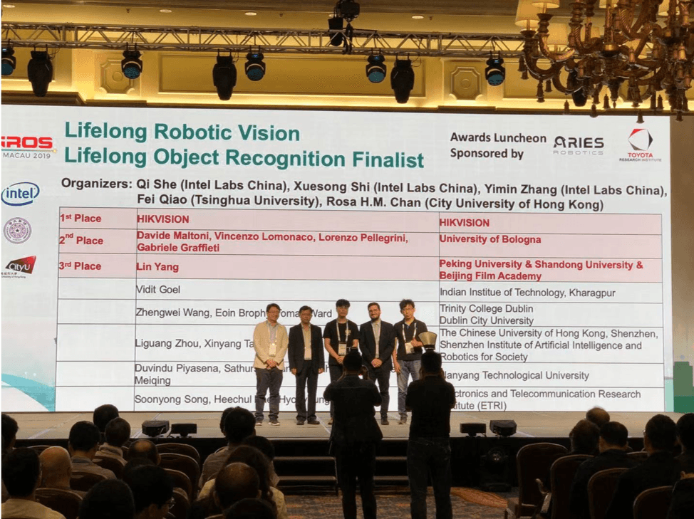 Lifelong Object Recognition Challenge Finalists at IROS 2019
