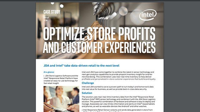Optimize Store Profits and Customer Experiences