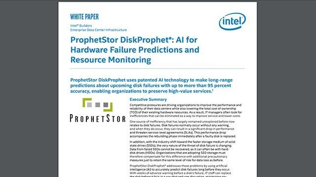 ProphetStore DiskProphet