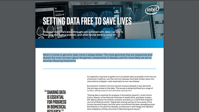 Setting Data Free to Save Lives