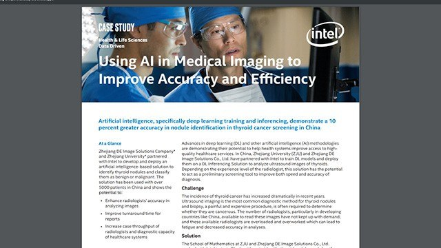 Using AI Med Imaging