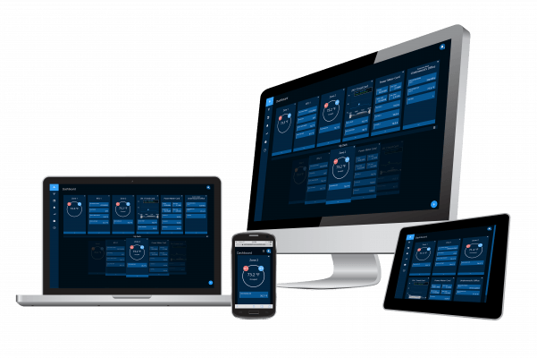 Figure 2. The KMC Commander dashboard is easy to view anywhere, on any device. (Source: KMC Commander)