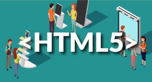 数字标牌, 电子标牌, HTML5