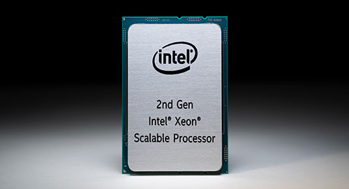 2nd Generation Intel Xeon Scalable Processors, Cascade Lake, artificial intelligence, AI, deep learning