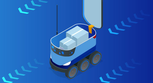 Autonomous Mobile Robot, AMR, Machine Vision, OpenVINO, AI, AWS RoboMaker, UP Squared