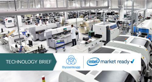 Smart factory, IIoT, Industry 4.0