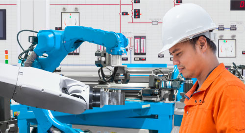 AI robots, Industry 4.0, IIoT, Smart Factory