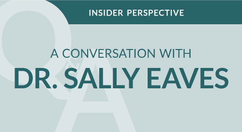 A Conversation with Dr. Sally Eaves