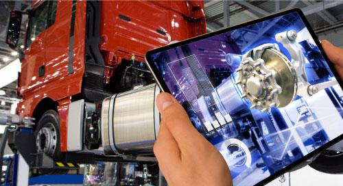Augmented Reality, IIoT, Smart Factory