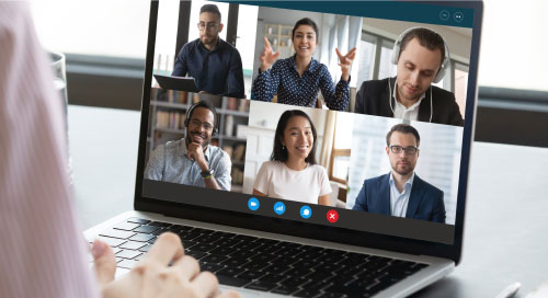 Videoconferencing, virtual meeting software, video meeting