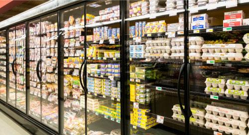 Retail cold storage