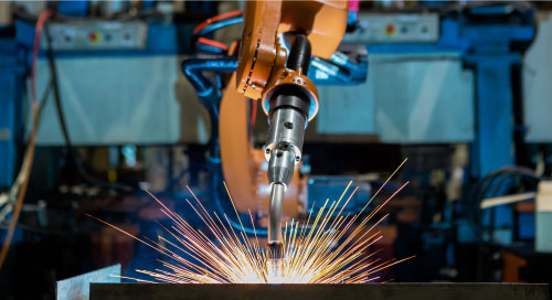 Robotic arc welding, visual defect detection