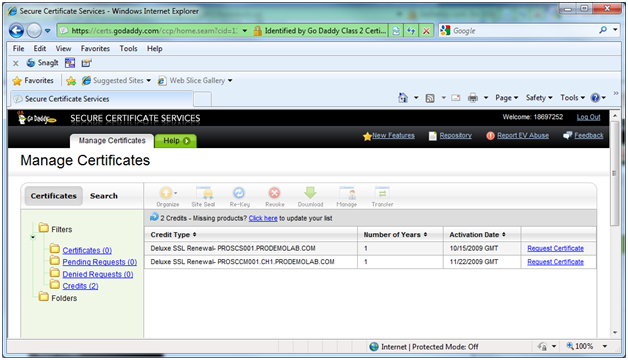 Expired GoDaddy vPro Provisioning Certificate in a SCCM Environment ...