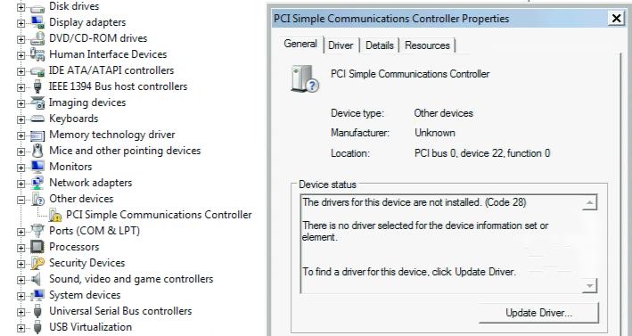 PCI-КОНТРОЛЛЕР SIMPLE COMMUNICATIONS ДРАЙВЕР СКАЧАТЬ БЕСПЛАТНО