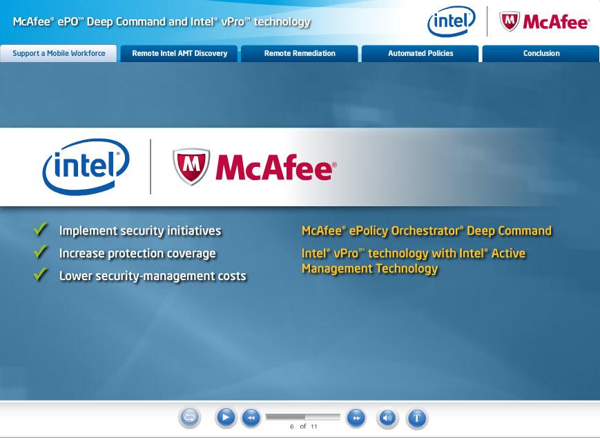 McAfee ePO Deep Command Demo Video - IT Peer Network