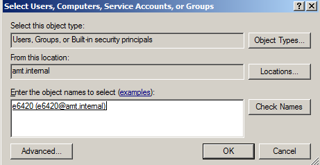 Hiding AMT Device Active Directory Objects - IT Peer Network