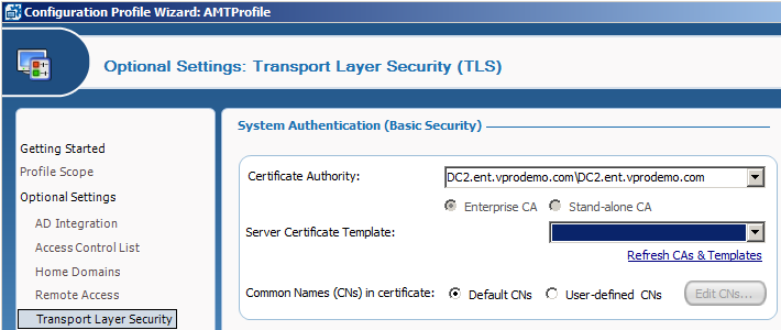 Why is my certificate template missing from intel scs console it within the microsoft enterprise ca duplicate the webserver certificate template when prompted select the default option for windows 2003 server yadclub