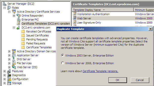 Why is my certificate template missing from intel scs console pic2g provide the details for the certificate template yadclub Gallery