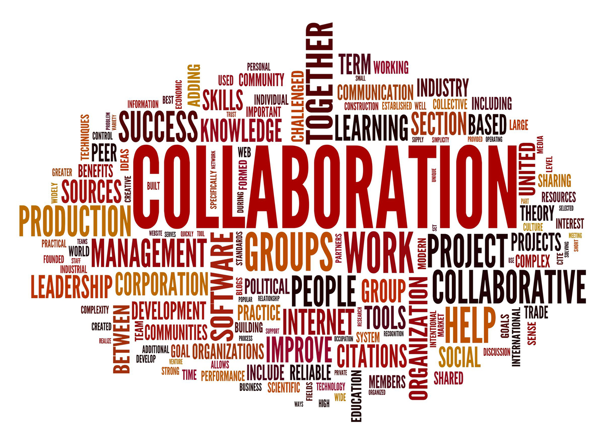 Collaborative Teaching Reaping The Benefits ~ Working together collaboration is key it peer network