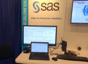 SAS Demo Booth