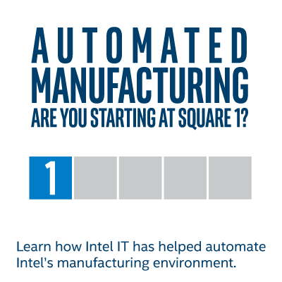 Automated Manufacturing - Starting at Square 1