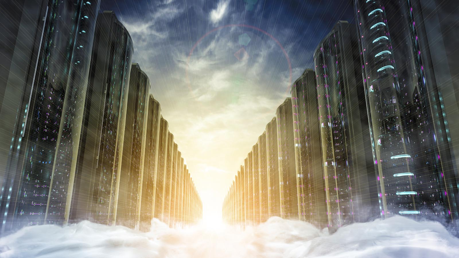 hybrid cloud data center