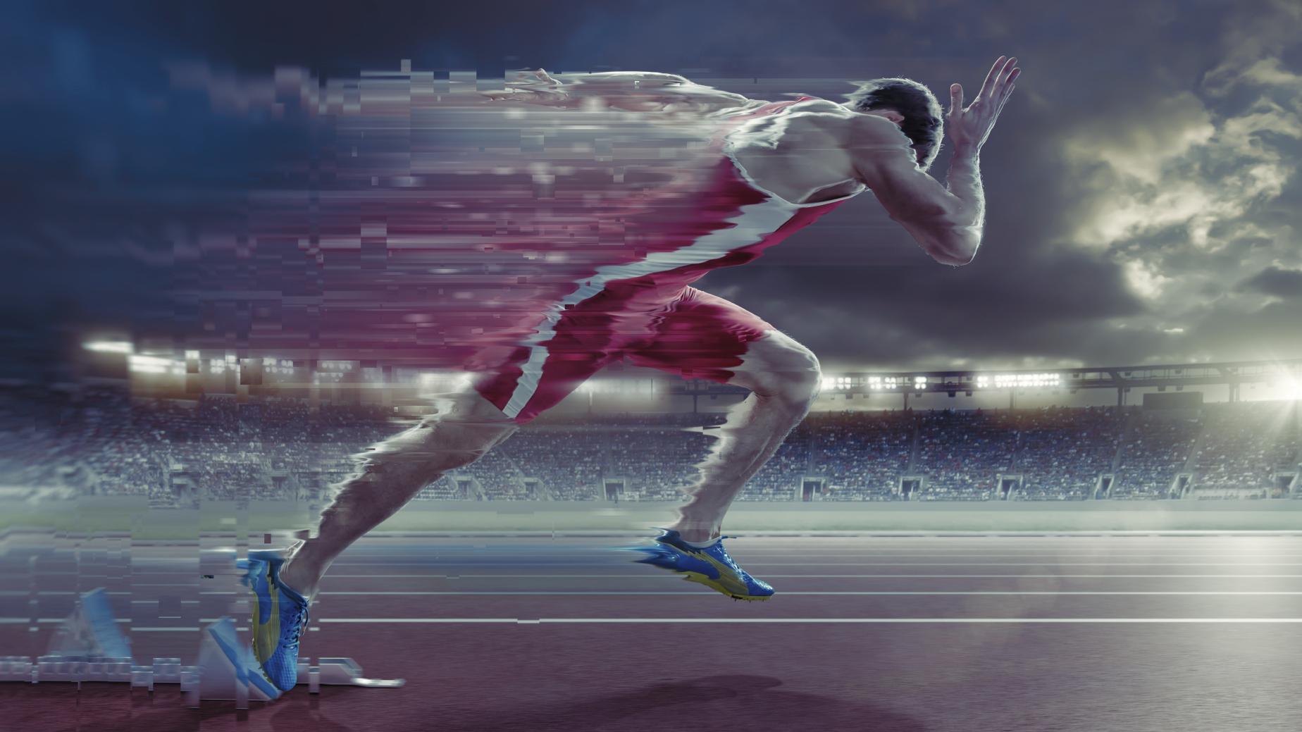 Фантастические картинки бегунов