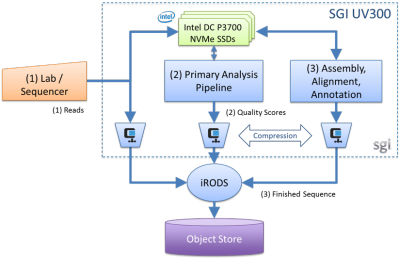 Pipeline Consolidation on UV & Object store