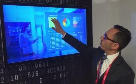 Intel collaborated with Cloudera on a predictive analytics solution shown at NRF16.