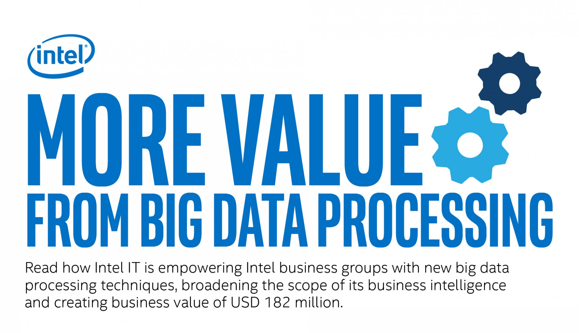 More Value From Big Data Processing
