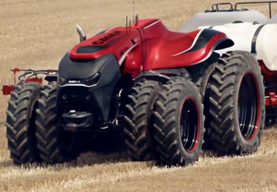 semi-autonomous concept vehichle