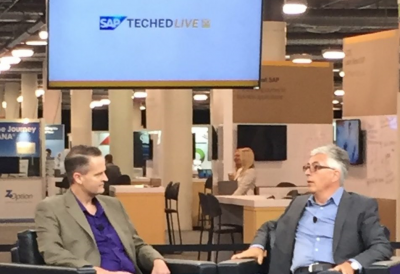 SAP TechEd Live Interview Bullet three