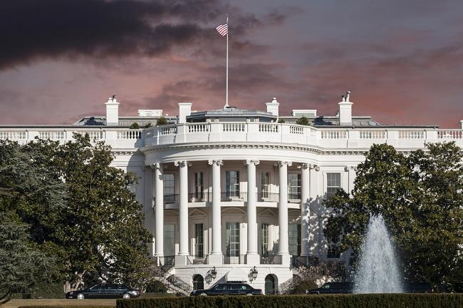 The United States White House in Washington D.C.
