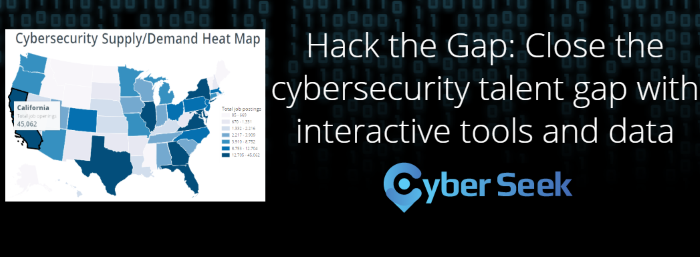 Cybersecurity heat map image