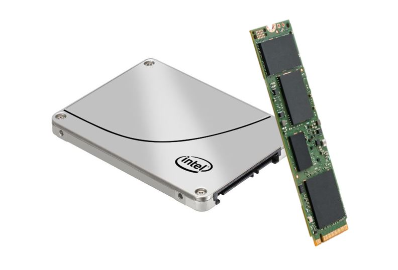 Intel products including SSDs