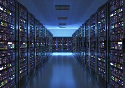 Intel data center racks