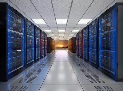 futuristic data center using green initiatives