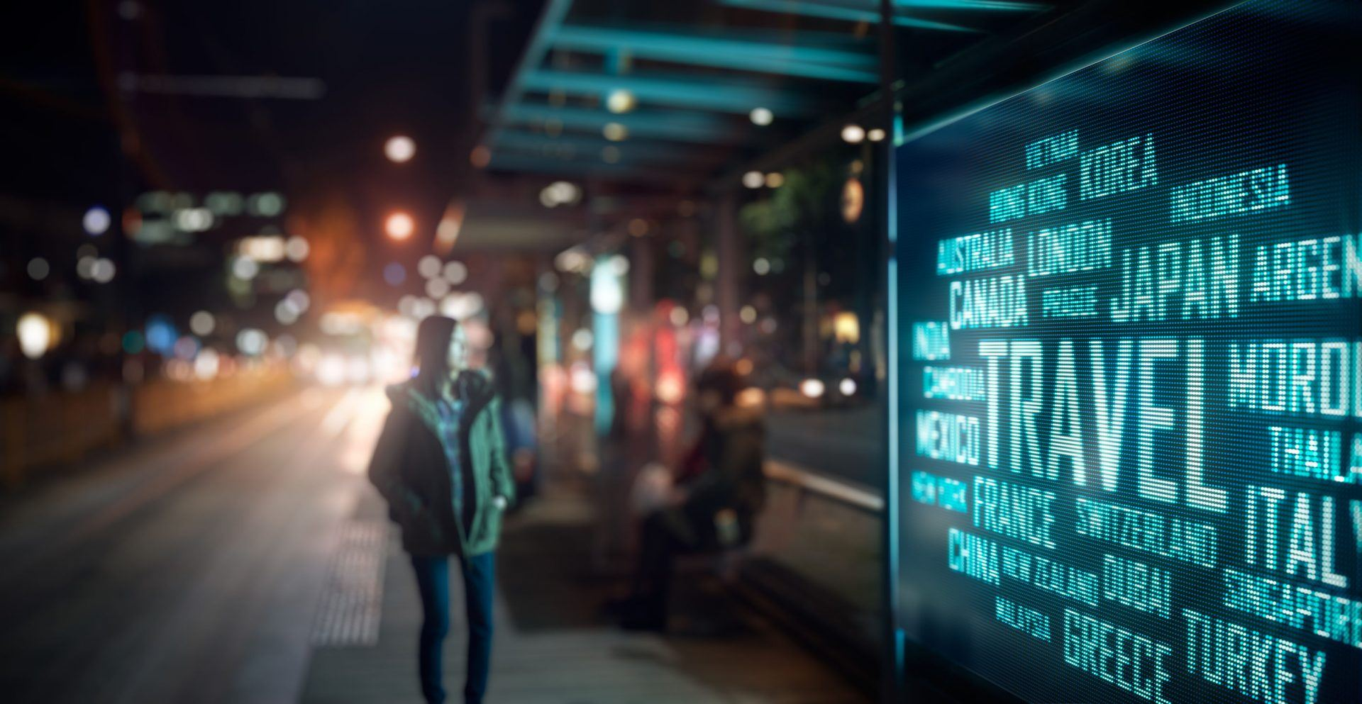 Visual retail and digital signage